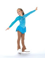 Figure Skating Dress Jerry's Cerulean Blue