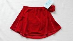 Mondor Full Skating Skirt Ruby Red Youth Jr