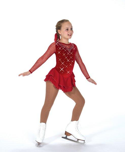 Figure Skating Dress Jerry's Ice on Rubies