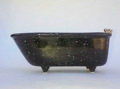 Mini bathtub - Black Speckle