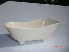 Bathtub container - White Pearl