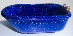 Mini bathtub - Cobalt Speckle