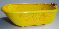 Mini bathtub -Yellow Speckle