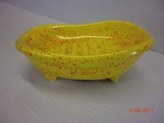 Bathtub Soap dish - Yellow