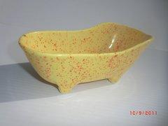 Bathtub container - Yellow