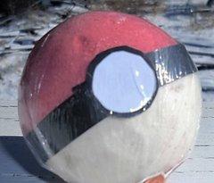 Pokeball Bath bomb with toy