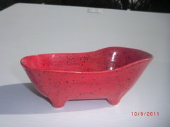 Bathtub container - Red sprinkle