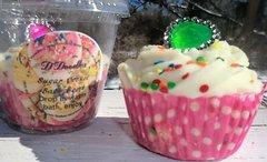 Sugar Cookie Bath Bomb cupcake