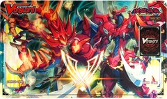 """Cardfight Vanguard Rubber Mat Collection """"Blazing Perdition Ver.E"""" by Bushiroad"""