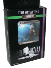 """Final Fantasy Trading Card Game Starter Set """"Final Fantasy Type-0"""" English edition by Square Enix"""