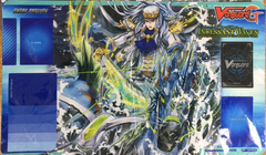 """Cardfight Vanguard G Rubber Mat Collection """"Commander of the incessant Waves (Storm Dominator, Commander Thavas)"""" by Bushiroad"""