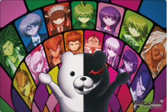 "Rubber Mat Collection ""Danganronpa The Animation"" Vol.15 by Bushiroad"