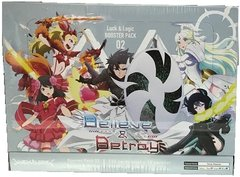 """Luck & Logic Booster Box 02 """"Believe & Betray"""" by Bushiroad"""