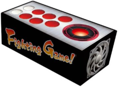 """Character Card Storage Box Collection """"Arcade Stick (Fighting Game!)"""" by Broccoli"""