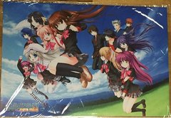 "Rubber Mat Collection Extra ""Little Busters! Perfect Edition"" Vol.4 by Bushiroad"