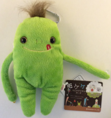 "Mokeke Carabiner Monster Pouch ""Neru"" GR by Shinada"