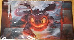 "DragoBorne Rubber Playmat ""Gears of Apocalypse (Galeras, Moltenscale Whelp)"" by Bushiroad"