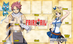 "Weiss Schwarz Fabric Mat Collection ""Fairy Tail"" by Bushiroad"