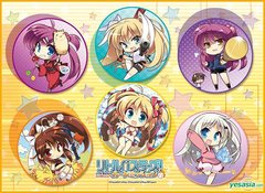 """TCG Universal Fabric Play Mat """"Little Busters! Card Mission"""" by Broccoli"""
