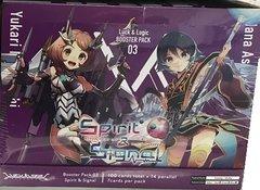 "Luck & Logic Booster Box 03 ""Spirit & Signal"" by Bushiroad"