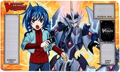 "Cardfight Vanguard Rubber Mat Collection ""Aichi and Majesty Lord Blaster"" by Bushiroad"