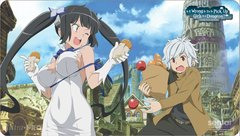 "Play Mat ""DanMachi: Is it Wrong to Try to Pick up Girls in a Dungeon? (Bell & Hestia)"" by Ultra PRO"