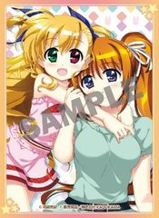 "Card Sleeve Vol.5 Comptiq Cover Collection ""Magical Girl Lyrical Nanoha ViVid (Vivio & Nanoha)"" KS-16 by Kadokawa"