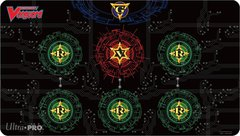 "Base Red on Black Play Mat for ""Cardfight!! Vanguard"" by Ultra PRO"