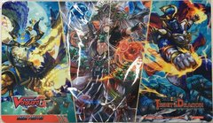 "Cardfight!! Vanguard G Rubber Mat Collection ""We Are Trinity Dragon"" by Bushiroad"