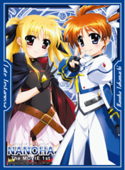 "Sleeve Collection HG ""Mahou Shojo Lyrical Nanoha The Movie 1st (Nanoha & Fate)"" Vol.114 by Bushiroad"