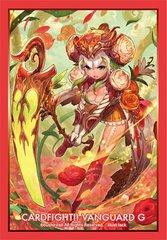 "Sleeve Collection Mini ""Cardfight!! Vanguard G (Ranunculus of Searing Heart, Ahsha)"" Vol.257 by Bushiroad"