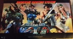 """Universal Fighting System [UFS] Rubber Mat Collection """"Soulcalibur III"""" by Sabertooth Games"""