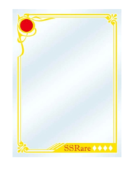 """Character Sleeve Protector [Sekai no Monyou: Patterns of the World] """"SNS Game Card Frame"""" by Broccoli"""