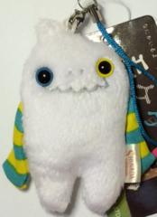 "Mokeke Strap Monster ""Skunts"" WH by Shinada"