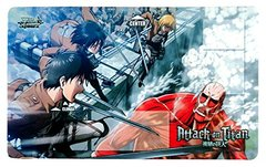 "Weiss Schwarz Rubber Mat Collection ""Attack on Titan"" by Bushiroad"