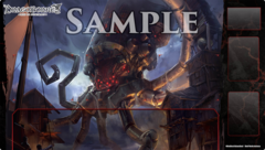 """DragoBorne Rubber Playmat """"Oath of Blood (The End of Tides)"""" by Bushiroad"""