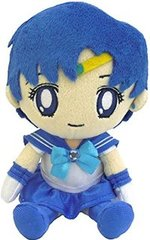 "Mini Plush Cushion ""Sailor Moon (Sailor Mercury)"" by BANDAI"