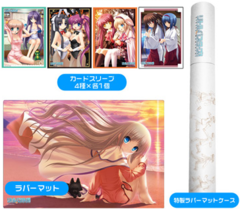 """Sleeve & Rubber Mat Supply Set """"Little Busters!"""" by Bushiroad"""