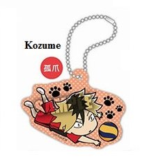 "Acrylic Scenes Key Chain ""Haikyuu!! Second Season (Kozume Kenma)"" by Takara Tomy A.R.T.S"