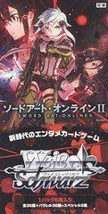 "Weiss Schwarz Japanese EX Booster Box ""Sword Art Online II"" by Bushiroad"