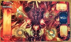 "Cardfight Vanguard Rubber Mat Collection ""Hellfire Seal Dragon, Blockade Inferno"" by Bushiroad"