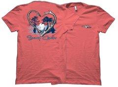Swamp Cracker Heart Hunting Fishing T-shirt