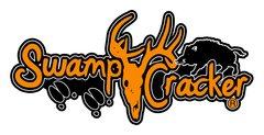 Swamp Cracker Hog Hunting Logo Decal