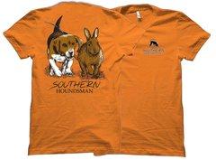 Beagle Chasing Rabbit Southern Houndsman T-Shirt