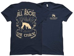 All About The Chase Flesh Southern Houndsman T-Shirt