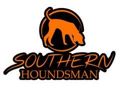 """12"""" x 8"""" Orange Southern Houndsman Logo Sticker"""