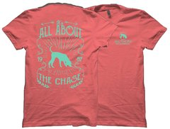 All About The Chase Seafoam Green Southern Houndsman T-Shirt