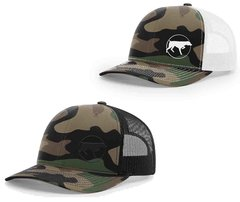 GSP German Short Hair Pointer Old School Camo Mesh Snapback Cap