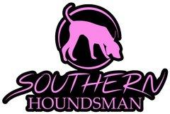 "12"" x 8"" Pink Southern Houndsman Logo Sticker"
