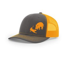 Bayed up Hog Mesh Snapback Cap